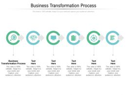 Business Transformation Process Ppt Powerpoint Presentation Infographic Template Templates Cpb