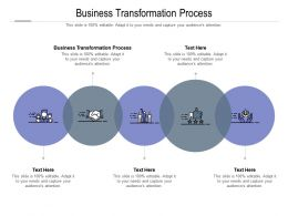 Business Transformation Process Ppt Powerpoint Presentation Summary Gridlines Cpb