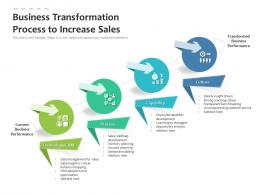 Business Transformation Process To Increase Sales