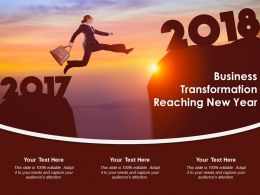 Business Transformation Reaching New Year
