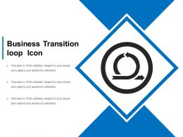 Business Transition Loop Icon