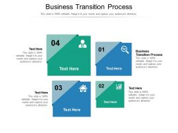 Business Transition Process Ppt Powerpoint Presentation Model Slides Cpb