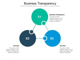 Business Transparency Ppt Powerpoint Presentation Tips Cpb