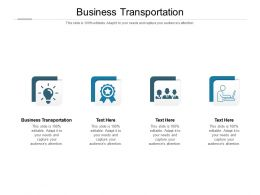 Business Transportation Ppt Powerpoint Presentation Professional Graphic Images Cpb