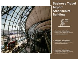 Business Travel Airport Architecture Building