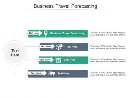 Business Travel Forecasting Ppt Powerpoint Presentation Ideas Cpb