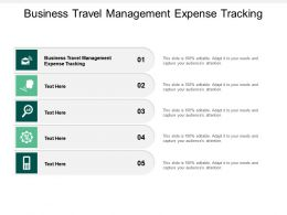 Business Travel Management Expense Tracking Ppt Powerpoint Presentation Ideas Design Templates Cpb