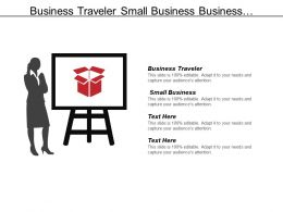 Business Traveler Small Business Professionals Instrument Concept