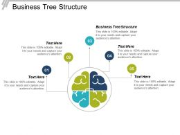 Business Tree Structure Ppt Powerpoint Presentation Infographic Template Diagrams Cpb
