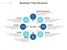 Business Tree Structure Ppt Powerpoint Presentation Styles Clipart Images Cpb