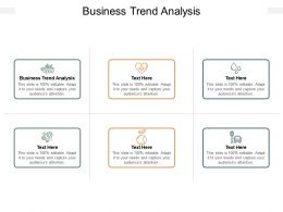 Business Trend Analysis Ppt Powerpoint Presentation Gallery Model Cpb