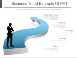 Business Trend Example Of Ppt
