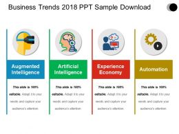 Business Trends 2018 Ppt Sample Download