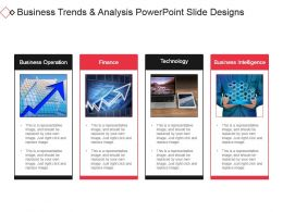 Business Trends And Analysis Powerpoint Slide Designs