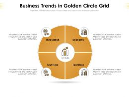 Business Trends In Golden Circle Grid