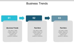 Business Trends Ppt Powerpoint Presentation Gallery Format Ideas Cpb