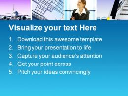 Business Trip Travel PowerPoint Templates And PowerPoint Backgrounds 0411  Presentation Themes and Graphics Slide02