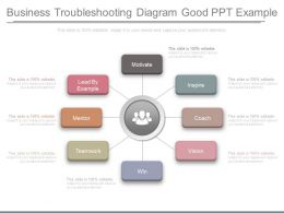 Business Troubleshooting Diagram Good Ppt Example