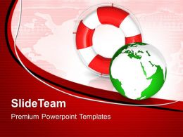 Business Unit Strategy Powerpoint Templates Rescue Icon World Global Ppt Designs