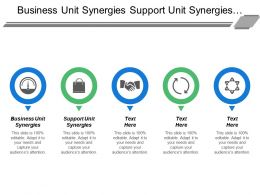 Business Unit Synergies Support Unit Synergies Strategic Learning