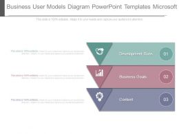 Business User Models Diagram Powerpoint Templates Microsoft