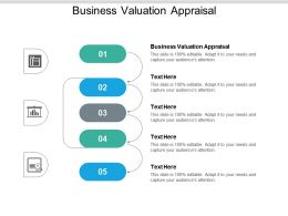 Business Valuation Appraisal Ppt Powerpoint Presentation Portfolio Design Ideas Cpb