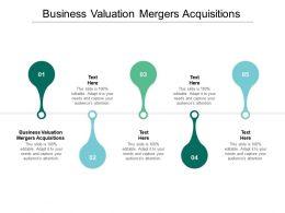 Business Valuation Mergers Acquisitions Ppt Powerpoint Presentation Portfolio Slide Portrait Cpb