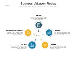 Business Valuation Review Ppt Powerpoint Presentation Outline Graphic Images Cpb