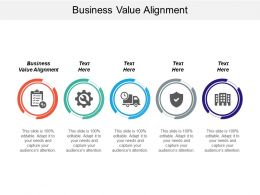 Business Value Alignment Ppt Powerpoint Presentation Icon Mockup Cpb