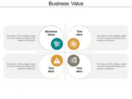 Business Value Ppt Powerpoint Presentation Model Inspiration Cpb