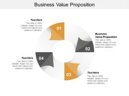 Business Value Proposition Ppt Powerpoint Presentation Layouts Slideshow Cpb