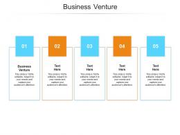 Business Venture Ppt Powerpoint Presentation Infographic Template Pictures Cpb