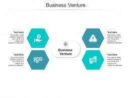 Business Venture Ppt Powerpoint Presentation Layouts Pictures Cpb
