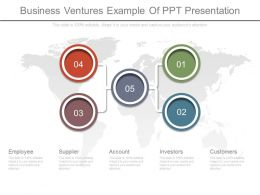 Business Ventures Example Of Ppt Presentation