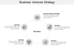 Business Ventures Strategy Ppt Powerpoint Presentation Slides Example Cpb