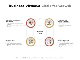 Business Virtuous Circle For Growth