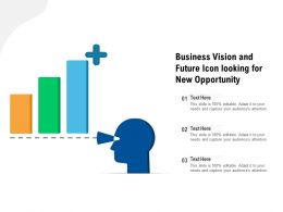 Business Vision And Future Icon Looking For New Opportunity