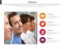 Business Vision Mission Company Profile Management Powerpoint Slides