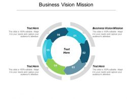 Business Vision Mission Ppt Powerpoint Presentation File Background Designs Cpb