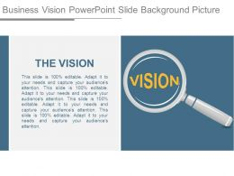 Business Vision Powerpoint Slide Background Picture