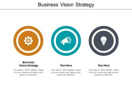 Business Vision Strategy Ppt Powerpoint Presentation File Aids Cpb