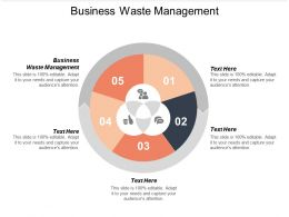 Business Waste Management Ppt Powerpoint Presentation Slides Introduction Cpb