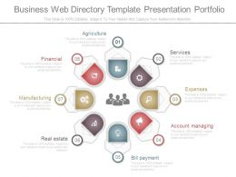 Business Web Directory Template Presentation Portfolio