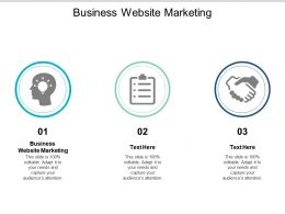 Business Website Marketing Ppt Powerpoint Presentation Outline Introduction Cpb
