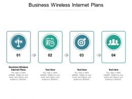Business Wireless Internet Plans Ppt Powerpoint Presentation Icon Files Cpb