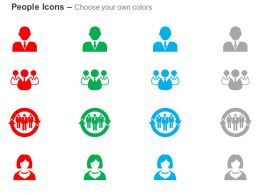 Business Woman Man Business Management Focus Group Ppt Icons Graphics