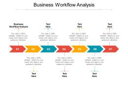 Business Workflow Analysis Ppt Powerpoint Presentation File Guidelines Cpb