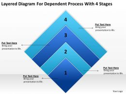 Business Workflow Diagram Process With 4 Stages Powerpoint Templates PPT Backgrounds For Slides
