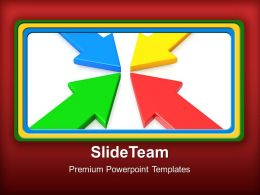 Business Workflow Presentation Powerpoint Templates Arrow Ppt Slides