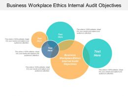 Business Workplace Ethics Internal Audit Objectives Ppt Powerpoint Presentation Icon Layouts Cpb